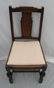 Pair of classic Art Deco style period wooden chairs - SOLD