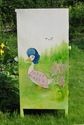 Child's cupboard painted with Beatrix Potter characters - SOLD