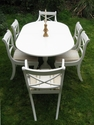 Fabulous extending 8-seater table and 6 chairs - SOLD