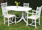 """Regency style"" table and four chairs - SOLD"