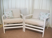 Retro style armchairs - SOLD