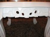 Unusual ornate coffee table - SOLD