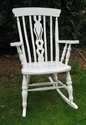 Beautiful pine rocking chair - SOLD