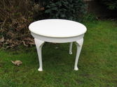Lovely round White table - SOLD