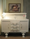Beautiful old sideboard refurbished in white - SOLD